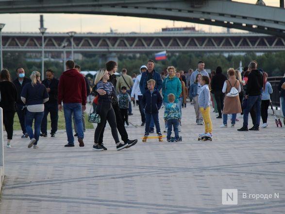 Праздник в пандемию: как Нижний Новгород отметил 799-летие - фото 89