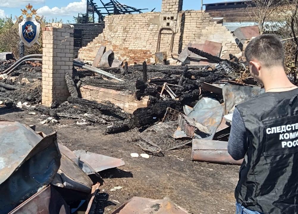 Пенсионерка погибла на пожаре в Навашинском районе - фото 3