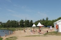 На острове Гребневские пески в этом году будет организован главный городской пляж