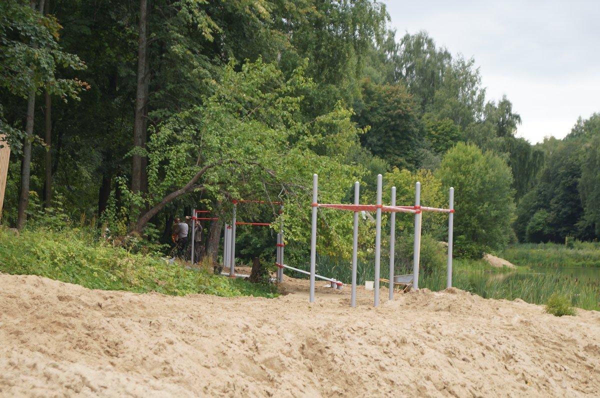 Воркаут-площадка и спасательная вышка появятся на Щелоковском хуторе - фото 1