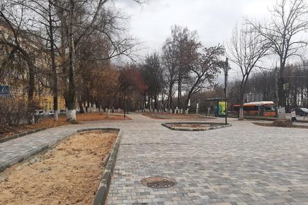 Подходы к остановкам отремонтировали в Приокском районе
