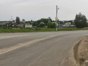 Дорогу в Первомайске отремонтировали за две недели
