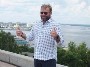 «Нижнему Новгороду подходит название город Прекрасных людей», - актер Михаил Пореченков