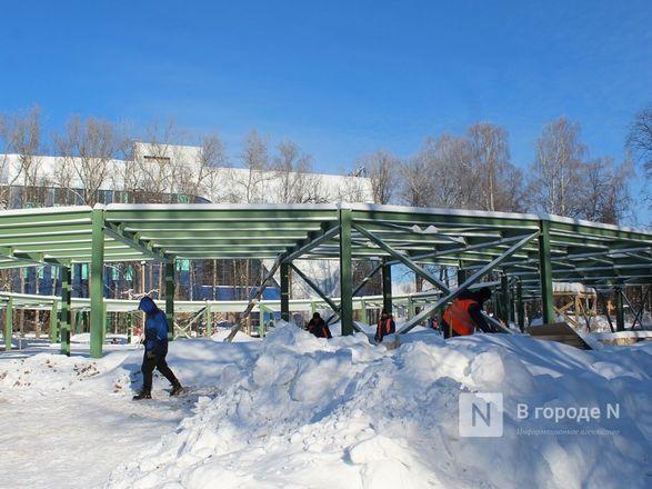 Более 240 рабочих благоустраивают нижегородскую «Швейцарию» - фото 38