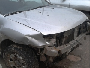 В Выксе ВАЗ врезался в иномарку с пьяным водителем