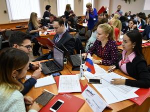 В Нижнем Новгороде проходит окружной полуфинал Кубка по менеджменту среди студентов «Управляй!»