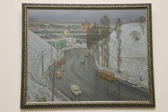 Выставка художника Рудольфа Соснина открылась в Законодательном собрании Нижегородской области - фото 4