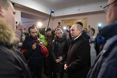 Владимир Путин назвал причины трагедии в Кемерове