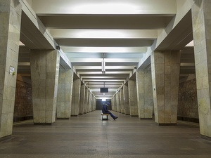 Станция «Двигатель Революции» нижегородской подземки признана одной из самых неуютных в российском метро