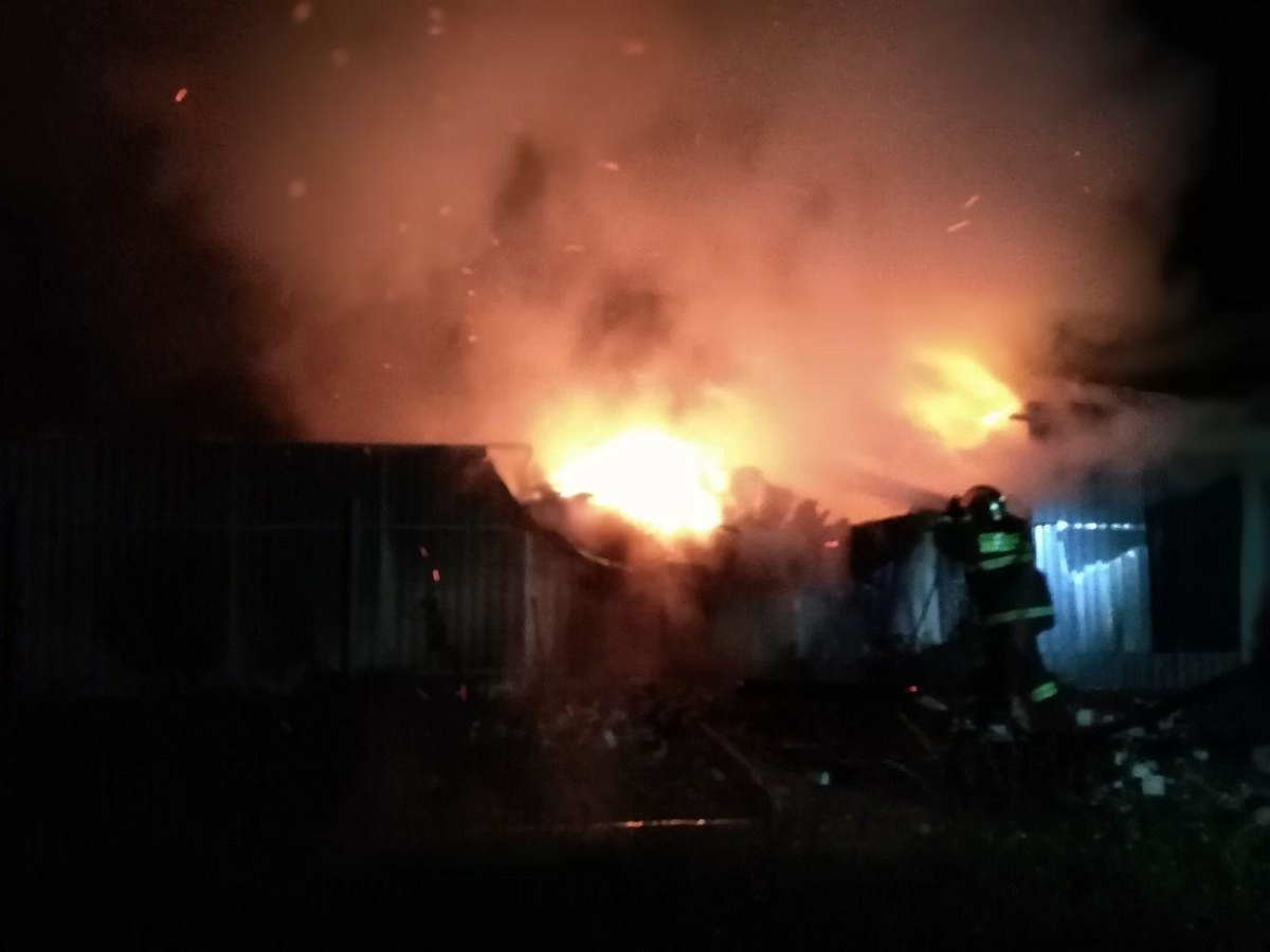 Мужчина погиб в пожаре в Кстовском районе - фото 1