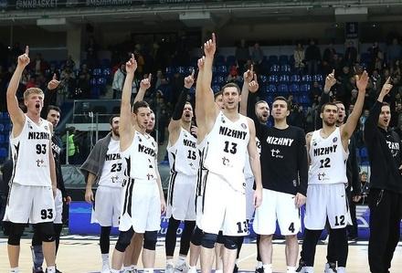 Баскетболисты «Нижнего Новгорода» пробились в 1/4 Лиги чемпионов