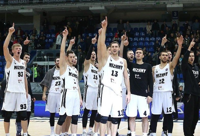 Баскетболисты «Нижнего Новгорода» пробились в 1/4 Лиги чемпионов - фото 1