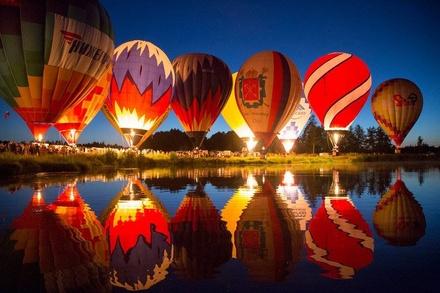 Ночное свечение воздушных шаров нижегородцы увидят в День города