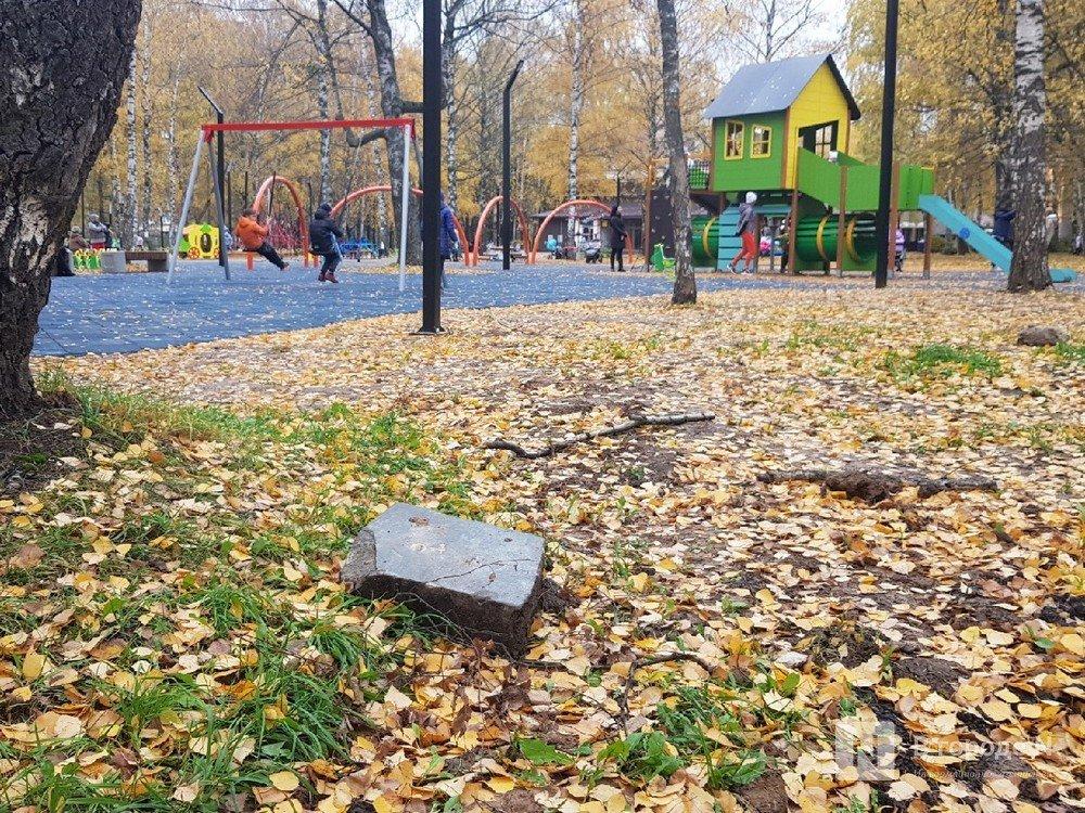 Недоблагоустройство: нижегородцы продолжают жаловаться на мусор в парке Пушкина - фото 1