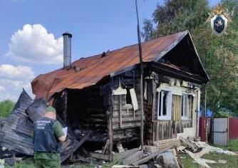 Тела убитой пенсионерки и ее сына обнаружены на месте пожара в Арзамасе - фото 1