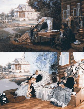 Заключенные нижегородки изобразили персонажей картин Васнецова и Врубеля - фото 6