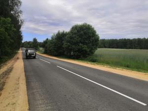 Дорогу в Борском районе отремонтировали за 57,5 млн рублей