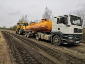 Дорогу в Шахунском районе отремонтируют по технологии ресайклинга