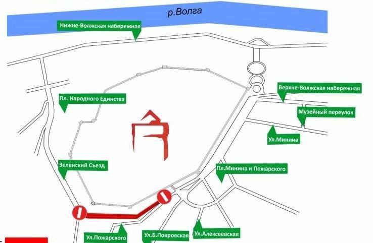 Ряд нижегородских автобусов изменит маршруты из-за работ на Зеленском съезде - фото 1