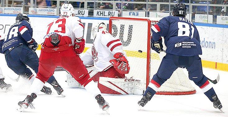 Нижегородские хоккеисты разгромили подмосковных «Витязей» со счетом 6:2 - фото 1