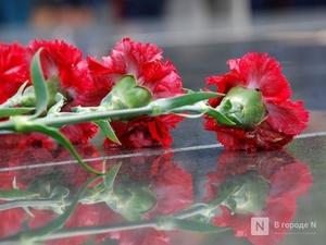 Число «75» из цветов высадят под окнами нижегородского ветерана Юлия Гарлицкого