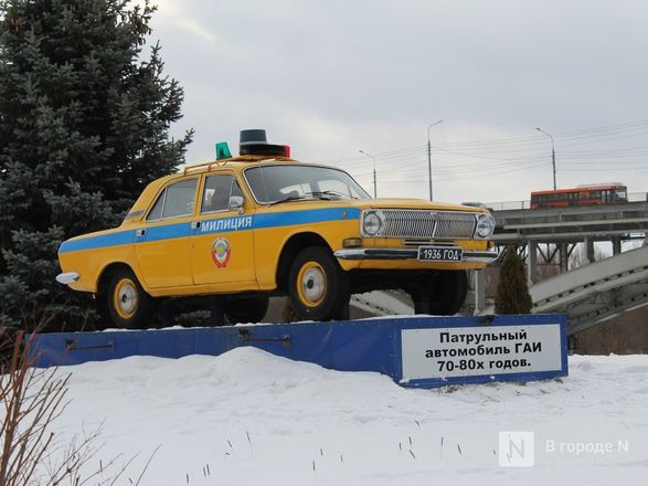 Два экспоната пополнили музей техники нижегородской ГИБДД - фото 9