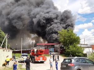 Пожару в Дзержинске на складе полиэтилена присвоен третий ранг