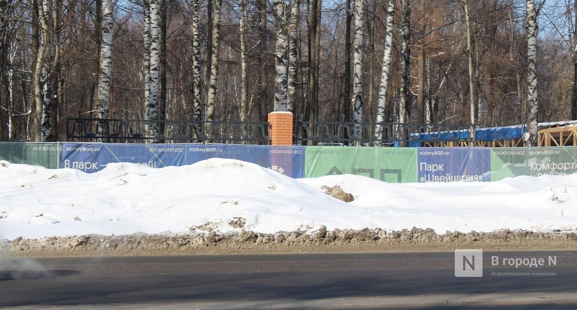 Как идет реставрация исторической ограды парка «Швейцария» - фото 11