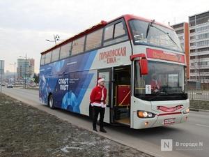 От вокзала до кремля на даблдекере: двухэтажный автобус начал курсировать по Нижнему Новгороду