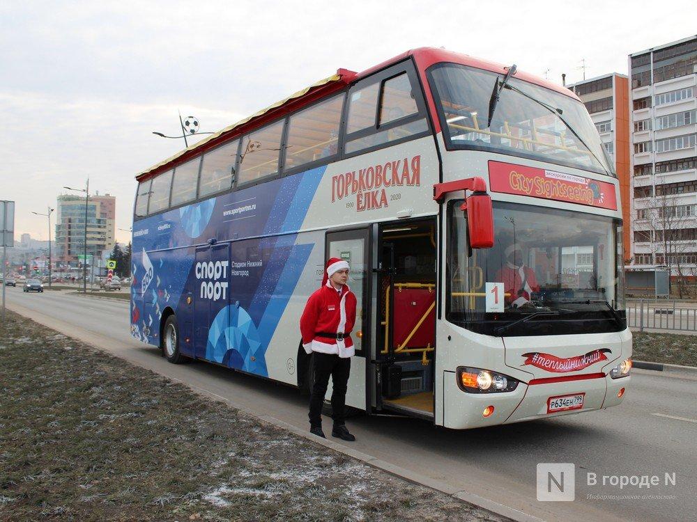 От вокзала до кремля на даблдекере: двухэтажный автобус начал курсировать по Нижнему Новгороду - фото 1