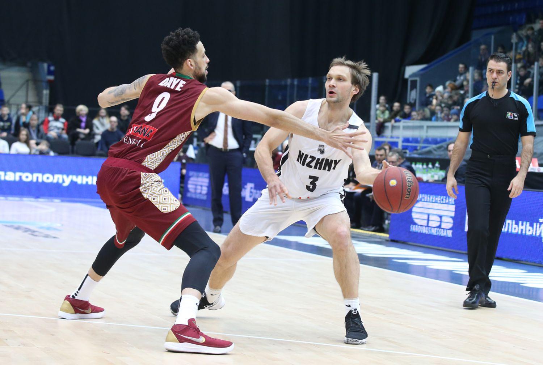 Баскетбольный клуб «Нижний Новгород» вылетел изКубка Европы