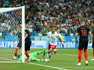 Соперником России в четвертьфинале ЧМ-2018 станет Хорватия