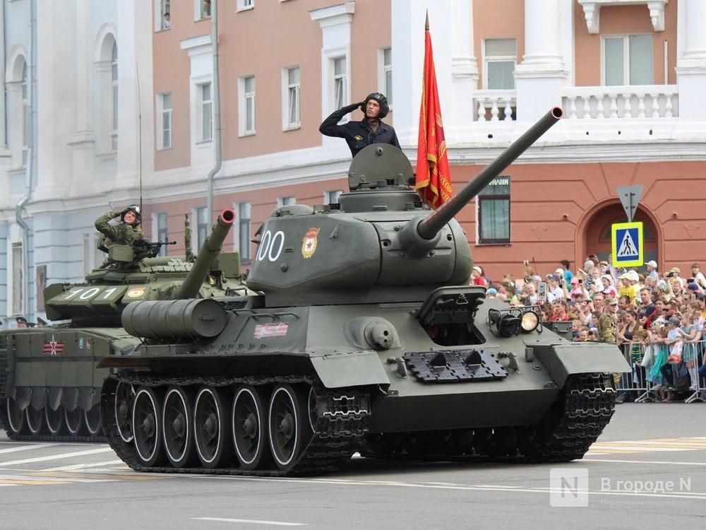 Движение в центре Нижнего Новгорода ограничат из-за репетиций парада Победы - фото 1