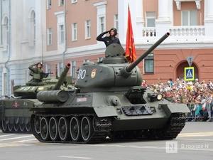 Движение в центре Нижнего Новгорода ограничат из-за репетиций парада Победы