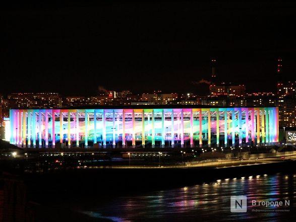 «Свет сердца» зажгли кремль, стадион «Нижний Новгород» и телебашня - фото 13