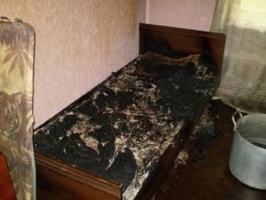 Мужчина сгорел в своей кровати в поселке Доскино Богородского района