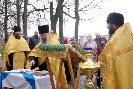 Память святого праведного воина Федора почтили в политехе