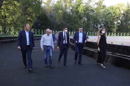 Реконструкция нижегородского парка «Швейцария» выполнена более чем на 90%