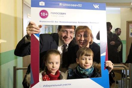 Более 18 тысяч нижегородцев приняли участие во флешмобе «Голосовач»