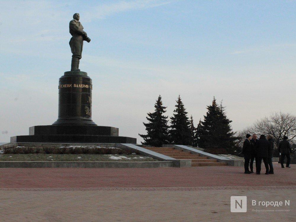 Памятник Чкалову отреставрировали в Нижнем Новгороде - фото 4