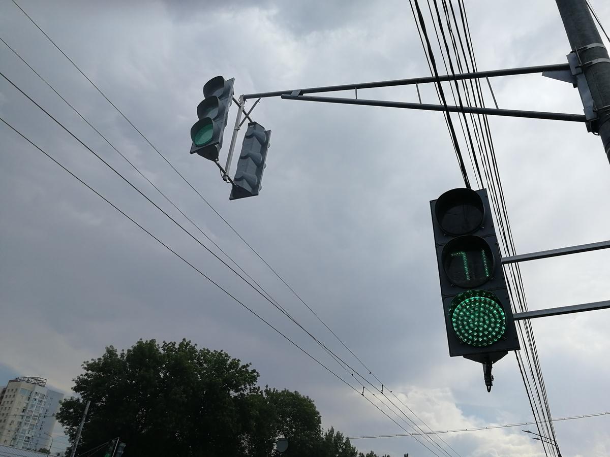 Новые светофоры установили на проспекте Гагарина - фото 1
