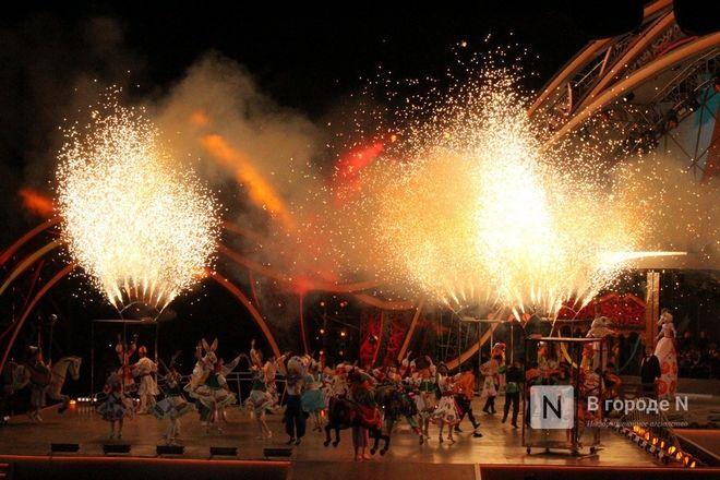 Огонь, вода и звезды эстрады: Как прошло гала-шоу 800-летия Нижнего Новгорода - фото 45