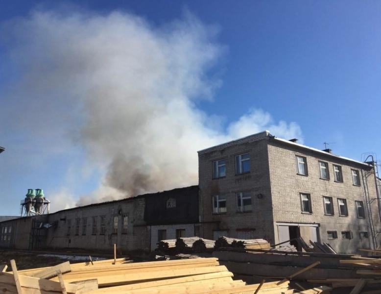 Третий уровень трудности: ВНижнем Новгороде гасят пожар