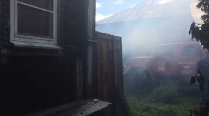 Уголовное дело возбуждено по факту гибели четырех человек на пожаре в Пильнинском районе - фото 1