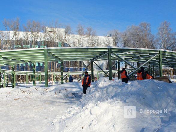 Более 240 рабочих благоустраивают нижегородскую «Швейцарию» - фото 20