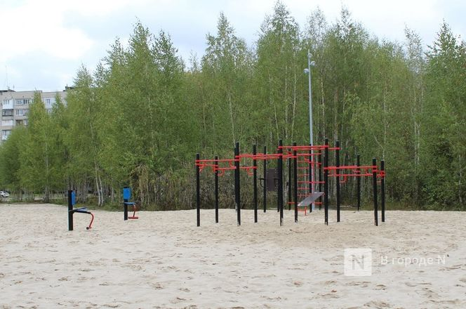 Пляж, качели, два фонтана: как преобразился Канавинский район - фото 94
