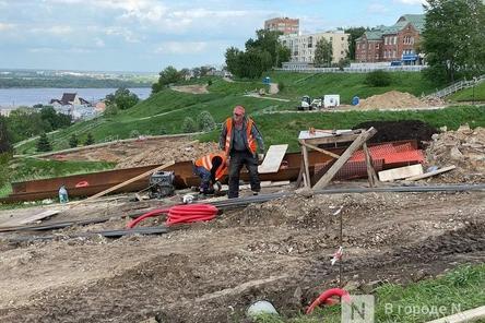 Благоустройство набережной Федоровского в Нижнем Новгороде завершится в ноябре
