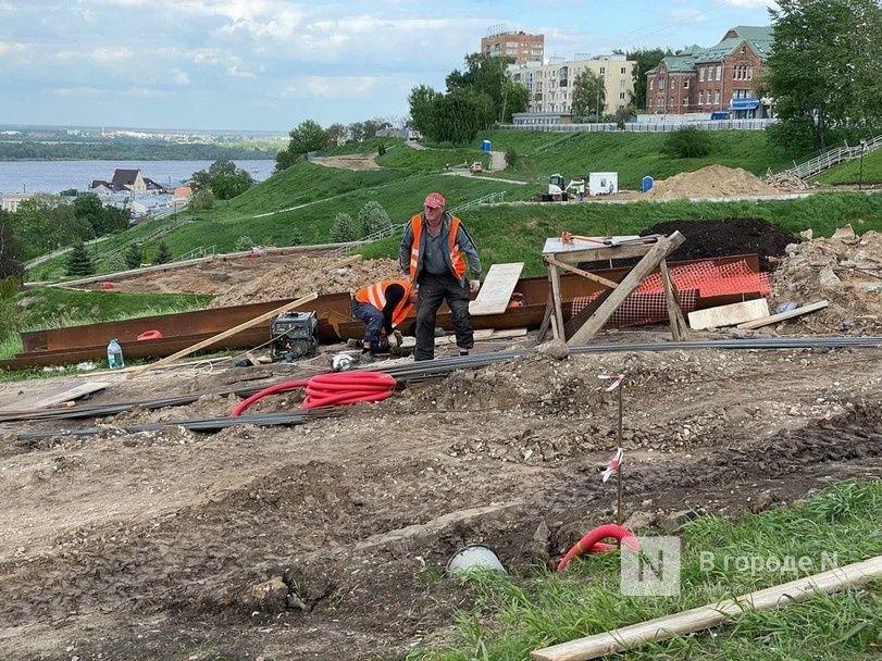 Благоустройство набережной Федоровского в Нижнем Новгороде завершится в ноябре - фото 1
