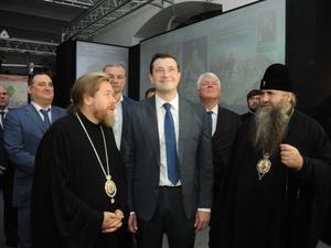 Епископ Тихон посетил нижегородский мультимедийный парк «Россия — моя история» (ФОТО)
