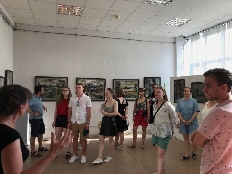 Встреча со студентами МГУ им. М.В. Ломоносова - фото 1